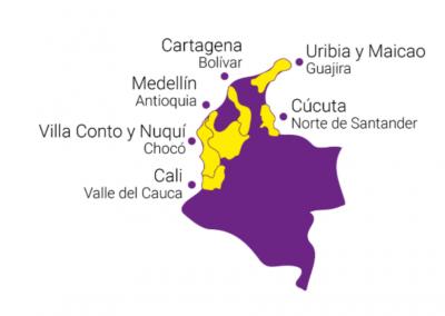 Regionalización del trabajo Pro Bono