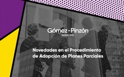 Novedades en el Procedimiento de Adopción de Planes Parciales