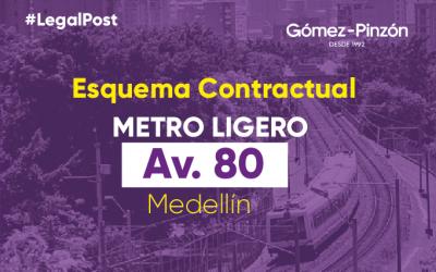 2. Esquema Contractual- Proyecto Metro de la 80 de Medellín